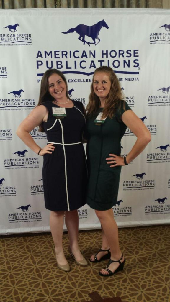 AHP Seminar roomies! (Rachel Florman, Assistant Editor Paint Horse Journal)