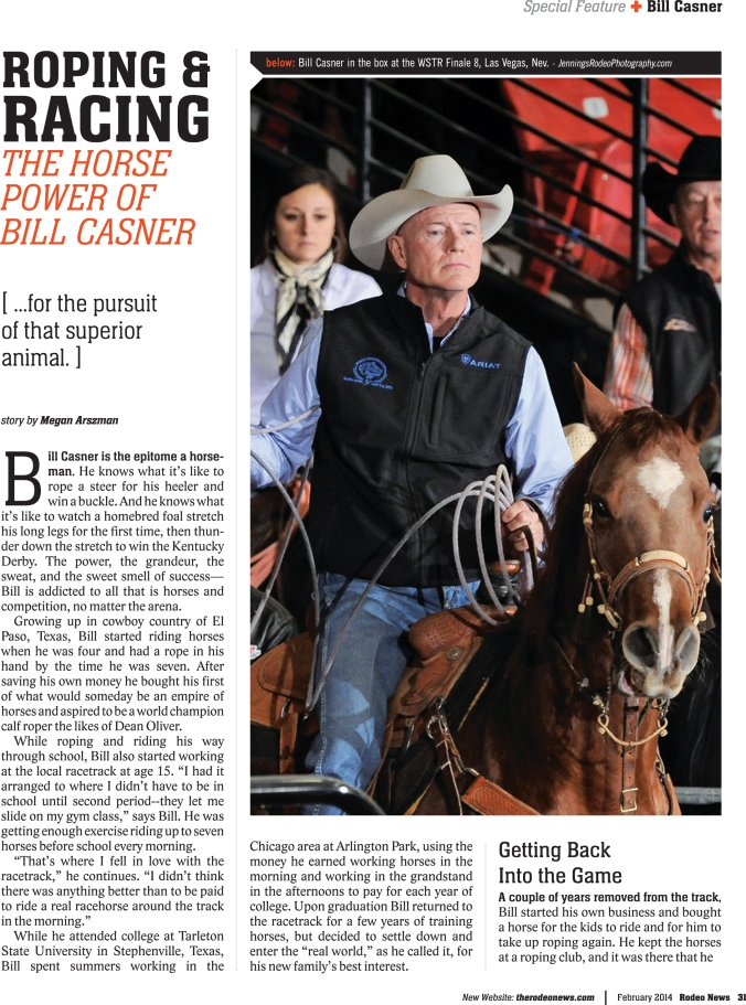 Rodeo News-Bill Casner