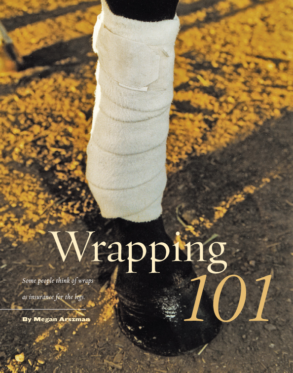 Leg Wrapping 101