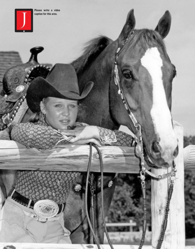 American Quarter Horse Journal - Paris Hughes and Mr Two Eyed Twist